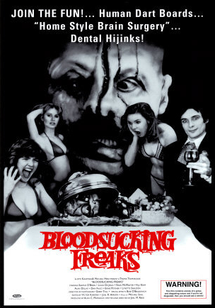 Incredible Torture Show(Blood Sucking Freaks), Joel M. Reed, 1976.